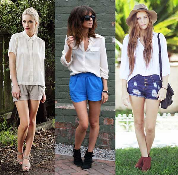 403475 short Como Usar Camisa de Seda: Dicas e Looks