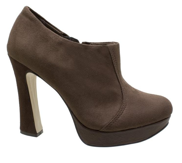 404758 Ankle Boot Meia Pata Bebec%C3%AA Acamur%C3%A7ado Marrom Botas inverno 2012 – lançamentos, tendências, moda