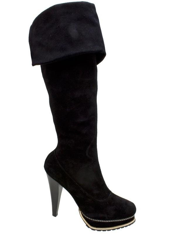 404758 Bota Cano Longo Over the Knee DM Extra Camur%C3%A7a Preta Botas inverno 2012 – lançamentos, tendências, moda