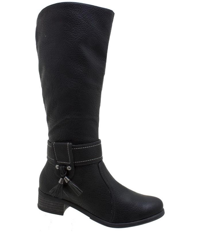 404758 Bota Montaria Bebec%C3%AA Preta  Botas inverno 2012 – lançamentos, tendências, moda