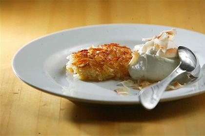 404860 cocada de forno sirva com sorvete Receita de cocada de forno
