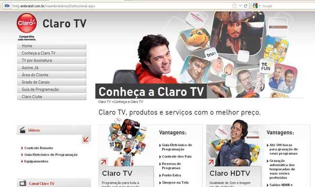405190 ClaroTV Claro TV: planos, pacotes, como assinar
