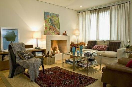 Decoracao De Sala Sofa Vermelho ~  sala Decoração de inverno para sala # decoracao de sala vermelho e