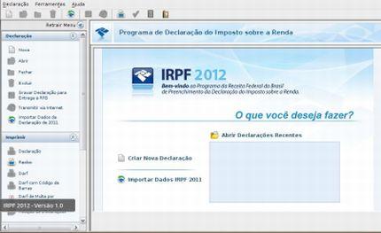 405332 receita irpf 2012 download e instalacao do programa Receita IR 2012: donwload e instalação do programa