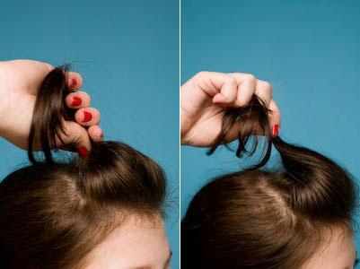 405803 penteado pratico e muito facil de fazer Penteados fáceis e simples: dicas, passo a passo