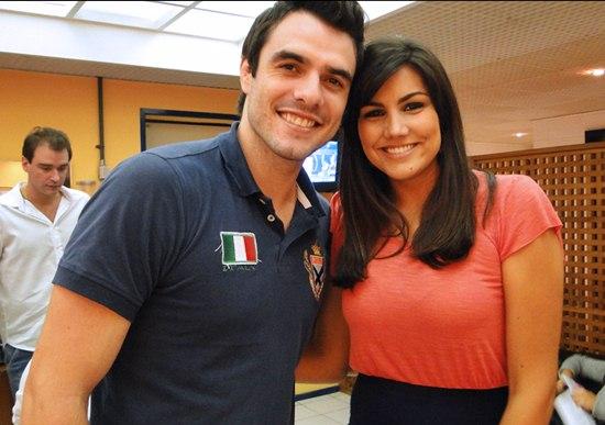 407096 Daniel Saullo e Mariana Felicio Casais do BBB que deram certo