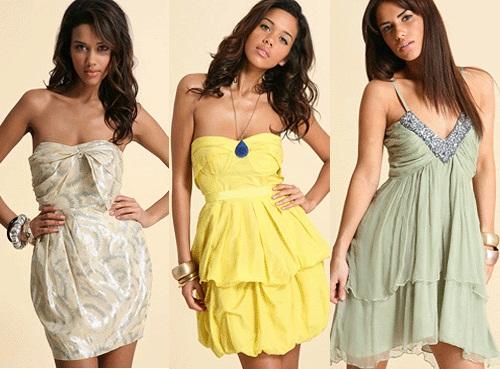 407411 É importante não exagerar no tamanho e comprimento do vestido Vestidos para baladas: modelos, fotos