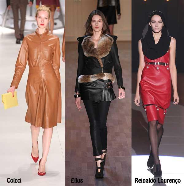 409138 como usar calça de couro desfiles 10 Como usar calça de couro: tendência para o inverno 2012