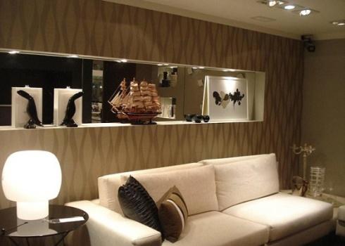 410404 Parede da sala como decorar ideias fotos 150x150 Parede da sala ...
