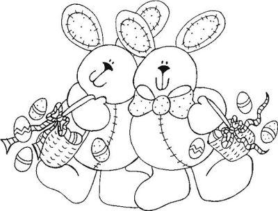 410436 desenho de pascoa para colorir 4 Páscoa 2012: Desenhos para colorir