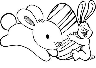 410436 desenho de pascoa para colorir 5 Páscoa 2012: Desenhos para colorir