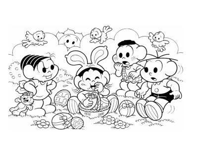 410436 desenho de pascoa para colorir Páscoa 2012: Desenhos para colorir