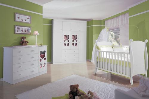 41049 quarto de bebe verde 150x150 Quarto de Bebê Decorado Verde
