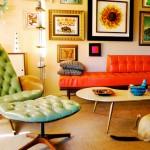 411079 decoracao retro 150x150 Móveis retrô coloridos: fotos