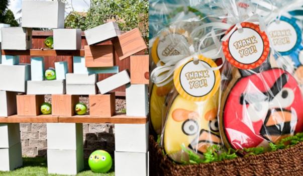 411122 Decoração de aniversário Angry Birds 5 Decoração de aniversário Angry Birds