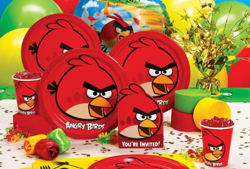 411122 Decoração de aniversário Angry Birds Decoração de aniversário Angry Birds