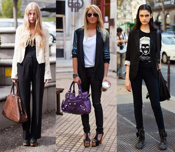 411306 como usar calca preta blazer1 Como usar: calça preta
