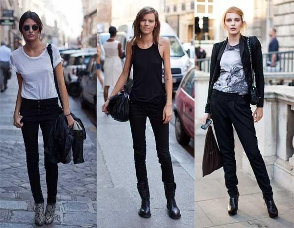411306 como usar calca preta camiseta3 Como usar: calça preta