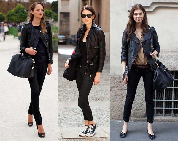 411306 como usar calca preta jaqueta4 Como usar: calça preta