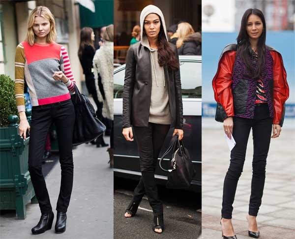 411306 como usar calca preta jeans5 Como usar: calça preta