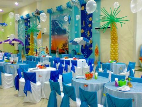 412386 Decoração de festa infantil tema Fundo do Mar 1 Decoração de festa infantil, tema Fundo do Mar