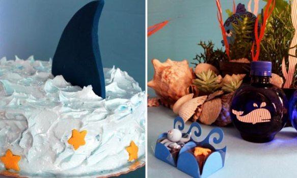 412386 Decoração de festa infantil tema Fundo do Mar Decoração de festa infantil, tema Fundo do Mar