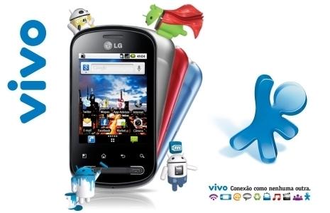 412425 85 off em smartphone lg p350 no novo plano vivo smartphone ilimitado 60 com ligacoes e smsmms ilimitados internet de r129 por r19 frete gratis Planos Vivo para smartphones