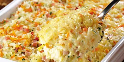 413615 Receita de arroz de forno01 Receita de arroz de forno com requeijão