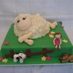 413753 ovelha Small 150x150 Bolos de aniversário para meninas: fotos