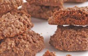 Biscoito de chocolate e amêndoas