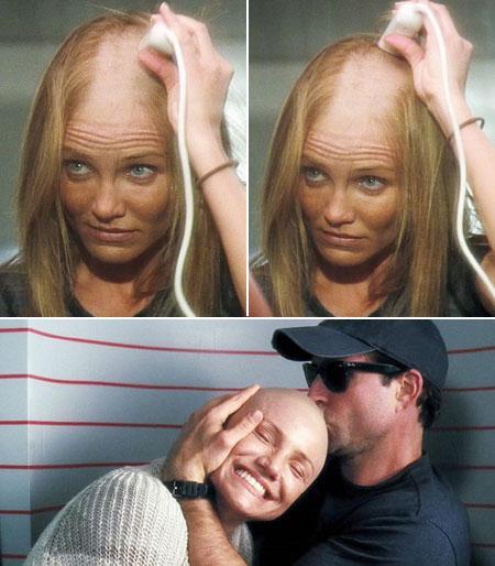 415023 famosas que rasparam a cabe%C3%A7a 1 Famosas que já rasparam a cabeça