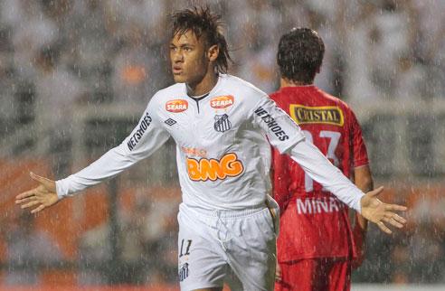 415105 Santos assume lideran%C3%A7a da Libertadores ap%C3%B3s vencer Juan Aurich2 Santos é líder da Libertadores após vencer Juan Aurich