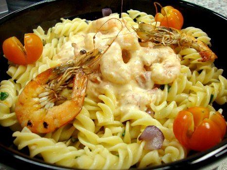 415169 Receita de macarrão com frutos do mar 2 Receita de macarrão com frutos do mar