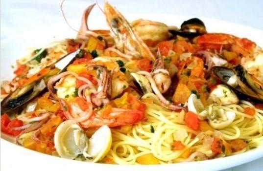 415169 Receita de macarrão com frutos do mar Receita de macarrão com frutos do mar