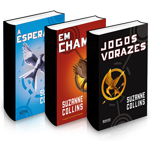 415261 livros jogos vorazes Coleção de esmaltes Jogos Vorazes