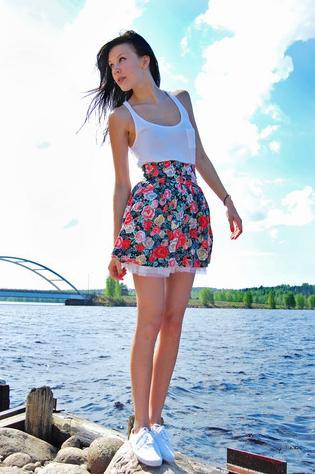 415382 Dicas para usar saia florida 2 Dicas para usar saia florida