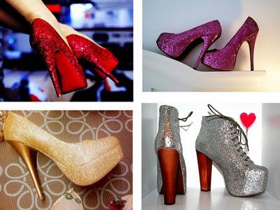 415400 Apresentação1 Sapatos com Brilhos   Modelos, fotos