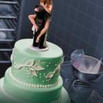 416956 bolo de casamento 150x150 Decoração de bolo de casamento engraçada