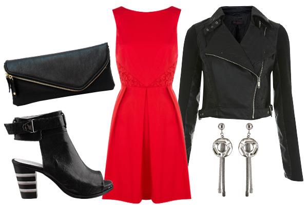 417464 como usar vestido vermelho 2 Como Usar Vestido Vermelho