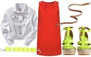 Como Usar Vestido Vermelho