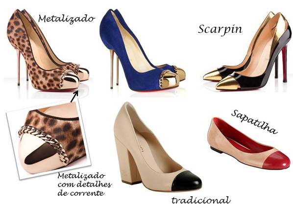 418207 SAPATOS Cap toe feminino: como usar, fotos