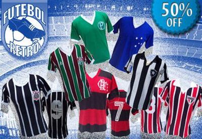 418328 Camisas de futebol retro – modelos times Camisas de Futebol Retrô   Modelos, Times