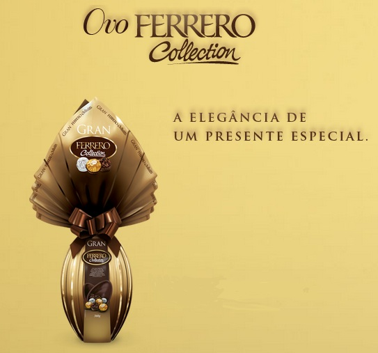 418733 ovo ferrero collection Ovos de Páscoa Ferrero Rocher
