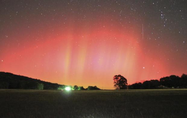 419017 aurora boreal no sul dos EUA Aurora Boreal: fotos