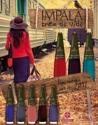 419669 impala trem da vida Coleção de esmaltes Trem da Vida Impala