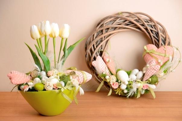 420092 Enfeites de Páscoa para decorar a casa fotos 16 Enfeites de Páscoa para decorar a casa: fotos