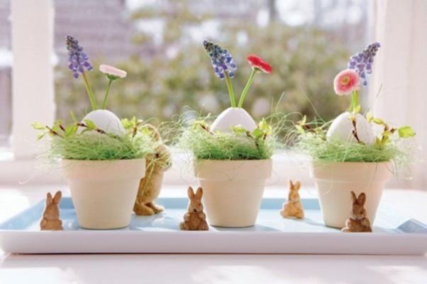 420092 Enfeites de Páscoa para decorar a casa fotos 19 Enfeites de Páscoa para decorar a casa: fotos