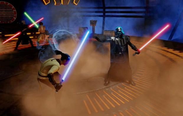420351 Fã é convidado para avaliar o game Star Wars para Kinect 1 Fã é convidado para avaliar o game Star Wars para Kinect