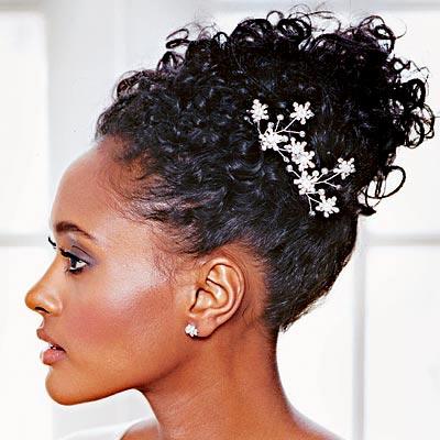420988 penteado para noiva negra Penteados de noivas com cabelos afro