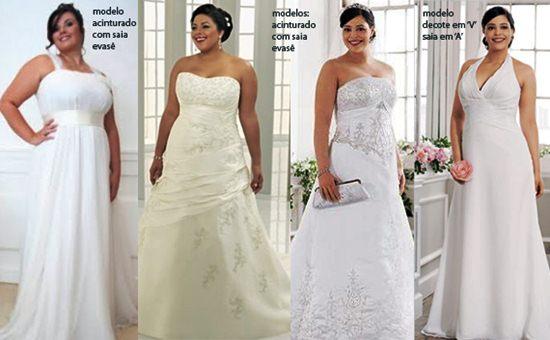 421363 vestidos de noivas gordinhas Vestidos de casamento para gordinhas: como escolher